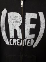 Flawless!  Christian Hoodie S/M EUC- Steven Curtis Chapman Recreated in Naperville, Illinois