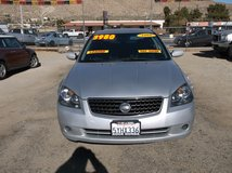 2006 NISSAN ALTIMA 4CLY AUTO . FULLY LOADED ' BEST BUY ' ONLY $3980 in 29 Palms, California