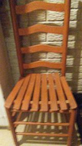 High backed Wood Chair in Batavia, Illinois