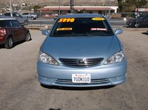"""2006 TOYOTA CAMRY LE 4CLY AUTO . LOADED """" AMAZING DEAL """" ONLY $5990 in 29 Palms, California"""