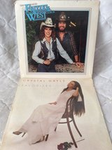 Record/LPs: Crystal Gayle & Frizzel West in Byron, Georgia
