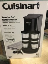 Two to go coffeemaker Cuisinart in Camp Lejeune, North Carolina