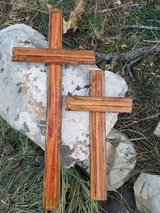 Rustic Wooden Rugged Crosses in Alamogordo, New Mexico