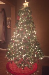 7.5 Ft Prelit Christmas Tree w/Storage Bag in Joliet, Illinois