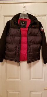 Boys Heavy Jacket With Vest Size Large 12/14 in Plainfield, Illinois