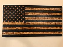 Rustic American Flags in Fort Leonard Wood, Missouri
