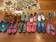 Girls lot of size 3 shoes -12 pairs in Warner Robins, Georgia