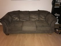 Want them GONE!!! Microfiber couches in Stuttgart, GE