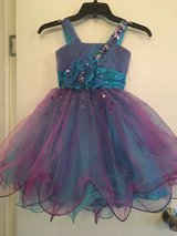purple and blue girl's pageant dress in Leesville, Louisiana