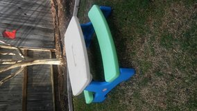Little tikes easy store picnic table in Vacaville, California