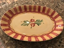 """1/2 PRICE! SOUTHERN LIVING AT HOME Gail Pittman SIENA 14"""" Oval Platter New in Spring, Texas"""