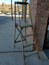 Antique Wood Platform Ladder in Fort Leonard Wood, Missouri