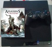 PS3 Console + Controller + Assassins Creed 3 * Cleaning out sale. Lots must go * in Wiesbaden, GE