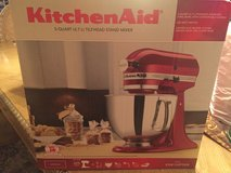 RED, KitchenAid Artisan Series Stand Mixer 5-Quart in Baytown, Texas