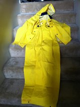 Stay Dry Fishing with a Rain Suit, Industrial Grade, Yellow in Camp Pendleton, California