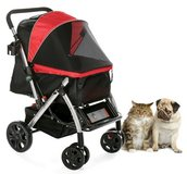 HPZ Pet Rover Premium Heavy Duty Dog/Cat/Pet Stroller Travel Carriage With Convertible Compartme... in Glendale Heights, Illinois