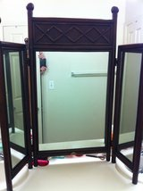 Tri-Fold Vanity Mirror in Vista, California