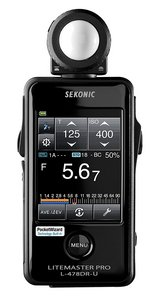 Sekonic L-478DR-U Pocket Wizard Lightmeter in Camp Pendleton, California