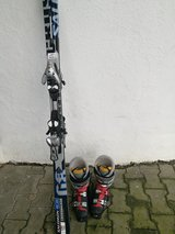 Skis, boots and bindings in Grafenwoehr, GE