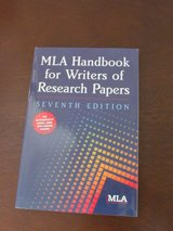 MLA Handbook for Writers of Research Papers in Lockport, Illinois