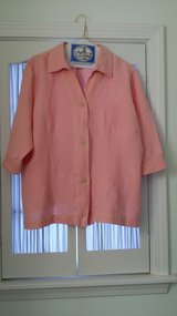 3/4 length sleeve - 18/20 Avenue Pink Blouse in Naperville, Illinois