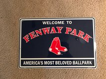 Red Sox sign in Tyndall AFB, Florida