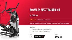 Bowflex Max Trainer Will Kick Your Butt! Best Offer Over $600 Takes It! in Columbus, Georgia