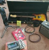 Washburn electric guitar, Amp, Pedal, etc. in Vista, California