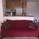 Red Couch in San Diego, California