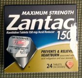 New Maximum Strenght Zantac 150 box of 24 in Fort Riley, Kansas