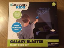 New, Discovery Kids IR Galaxy Blaster w/Target Droid Remote Control in Baytown, Texas