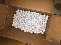 Golf balls - used in Chicago, Illinois
