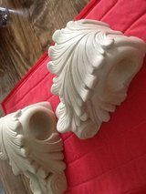 Drapery corbels - cream in Beaufort, South Carolina