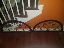 Pier 1 / Silver 2 Piece Iron Wall Hanging Set in Fort Campbell, Kentucky