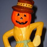 REDUCED! HANDMADE CERAMIC SCARECROW MADE IN THE 70'S in Quantico, Virginia