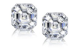 ***BRAND NEW*** 3CTTW ASSCHER CUT CZ EARRINGS**** in Houston, Texas