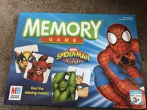 Spider-Man Memory Game in New Lenox, Illinois