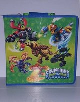 Skylanders Swap Force Carrying Display Case Blue Green Color 32 Piece in Fort Riley, Kansas