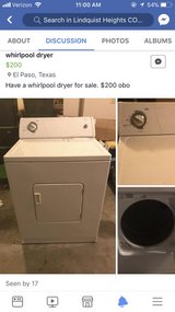 dryer in El Paso, Texas