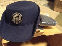 Women's military blue cap (medium) in Ramstein, Germany