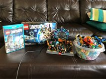 Lego Dimensions Game and all packs pictured in Fort Lewis, Washington