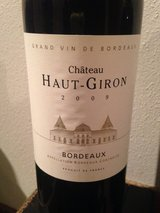 Chateau Haut-Giron Bordeaux 2009 in Aviano, IT