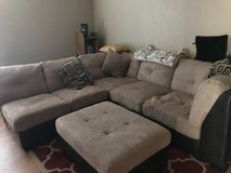tan sectional couch in Vacaville, California