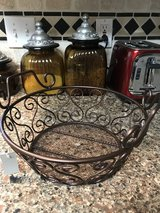 SCROLL METAL BASKET in Spring, Texas