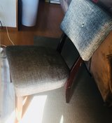 4 grey dining chairs in Okinawa, Japan