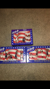 Set of 3 Unopened USA Basketball Starting Line Ups 1996 Edition in Yorkville, Illinois