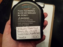 Efluky power tool battery ni-cd 12v 3000mah in Fort Campbell, Kentucky