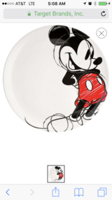 Disney Mickey kitchen decor and dishes in Byron, Georgia