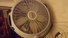 4 different  style fans in Davis-Monthan AFB, Arizona