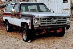 1978 Chevy Blazer 4x4 in Manhattan, Kansas